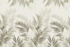 P031603-6 cikkszámú tapéta.Rajzolt,retro,természeti mintás,bézs-drapp,szürke,gyengén mosható,vlies poszter, fotótapéta