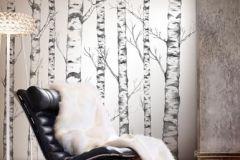 P032401-5 cikkszámú tapéta.Fa hatású-fa mintás,fehér,fekete,gyengén mosható,vlies poszter, fotótapéta