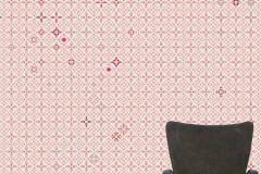 E040203-4 cikkszámú tapéta.Fotórealisztikus,geometriai mintás,kockás,retro,barna,bézs-drapp,narancs-terrakotta,piros-bordó,gyengén mosható,vlies poszter, fotótapéta