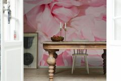 E040603-8 cikkszámú tapéta.Fotórealisztikus,természeti mintás,virágmintás,bézs-drapp,pink-rózsaszín,gyengén mosható,vlies poszter, fotótapéta