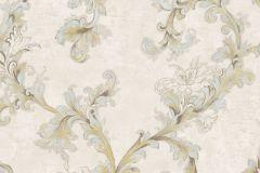 4916 cikkszámú tapéta.Barokk-klasszikus,természeti mintás,textil hatású,virágmintás,barna,bézs-drapp,szürke,súrolható,vlies tapéta