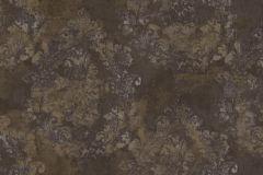 6719 cikkszámú tapéta.Barokk-klasszikus,különleges felületű,különleges motívumos,virágmintás,barna,bézs-drapp,bronz,súrolható,vlies tapéta