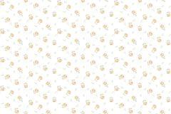 4107 cikkszámú tapéta.Barokk-klasszikus,virágmintás,bézs-drapp,fehér,narancs-terrakotta,súrolható,vlies tapéta