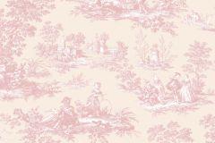 4132 cikkszámú tapéta.3d hatású,absztrakt,barokk-klasszikus,emberek-sztárok,különleges motívumos,rajzolt,retro,bézs-drapp,pink-rózsaszín,súrolható,vlies tapéta