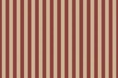 4154 cikkszámú tapéta.Csíkos,bézs-drapp,piros-bordó,súrolható,illesztés mentes,vlies tapéta