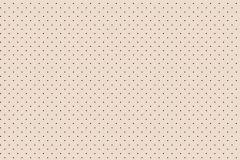 4164 cikkszámú tapéta.Pöttyös,bézs-drapp,piros-bordó,súrolható,vlies tapéta