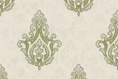 7615 cikkszámú tapéta.Barokk-klasszikus,textil hatású,szürke,súrolható,vlies tapéta