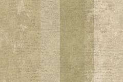 7633 cikkszámú tapéta.Barokk-klasszikus,csíkos,textil hatású,bézs-drapp,zöld,súrolható,illesztés mentes,vlies tapéta