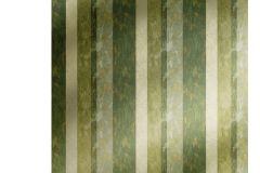7635 cikkszámú tapéta.Barokk-klasszikus,csíkos,különleges motívumos,textil hatású,barna,bézs-drapp,vajszín,zöld,súrolható,illesztés mentes,vlies tapéta