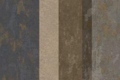 7637 cikkszámú tapéta.Barokk-klasszikus,csíkos,textil hatású,arany,barna,bézs-drapp,súrolható,illesztés mentes,vlies tapéta
