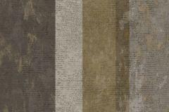 7639 cikkszámú tapéta.Barokk-klasszikus,csíkos,textil hatású,barna,sárga,szürke,súrolható,illesztés mentes,vlies tapéta
