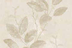 7641 cikkszámú tapéta.Barokk-klasszikus,természeti mintás,textil hatású,virágmintás,bézs-drapp,szürke,vajszín,súrolható,vlies tapéta