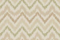 7663 cikkszámú tapéta.Geometriai mintás,rajzolt,retro,textil hatású,barna,bézs-drapp,zöld,súrolható,vlies tapéta