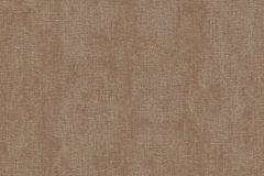 7687 cikkszámú tapéta.Egyszínű,textil hatású,barna,súrolható,illesztés mentes,vlies tapéta