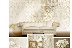 8801 cikkszámú tapéta.Barokk-klasszikus,arany,bézs-drapp,súrolható,vlies tapéta