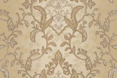 8803 cikkszámú tapéta.Barokk-klasszikus,arany,barna,bézs-drapp,súrolható,vlies tapéta