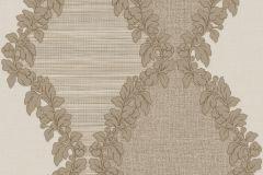 9037 cikkszámú tapéta.Barokk-klasszikus,barna,bézs-drapp,súrolható,vlies tapéta