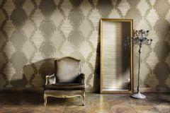 9039 cikkszámú tapéta.Barokk-klasszikus,barna,bézs-drapp,súrolható,vlies tapéta