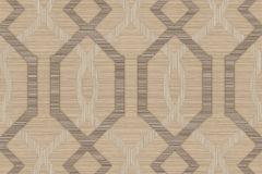 9047 cikkszámú tapéta.Absztrakt,geometriai mintás,barna,bézs-drapp,súrolható,vlies tapéta