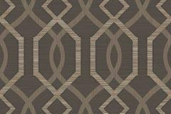 9049 cikkszámú tapéta.Absztrakt,geometriai mintás,barna,bézs-drapp,súrolható,vlies tapéta
