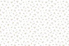 2545 cikkszámú tapéta.Barokk-klasszikus,virágmintás,bézs-drapp,fehér,gyengén mosható,papír tapéta