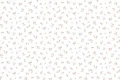 2547 cikkszámú tapéta.Barokk-klasszikus,virágmintás,fehér,pink-rózsaszín,zöld,gyengén mosható,papír tapéta
