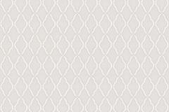 3324 cikkszámú tapéta.Barokk-klasszikus,geometriai mintás,kockás,textil hatású,fehér,pink-rózsaszín,súrolható,vlies tapéta