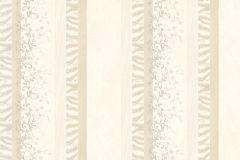 7120 cikkszámú tapéta.Absztrakt,barokk-klasszikus,különleges motívumos,természeti mintás,textil hatású,textilmintás,virágmintás,fehér,vajszínű,súrolható,illesztés mentes,vlies tapéta