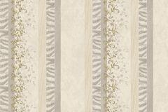 7121 cikkszámú tapéta.Absztrakt,barokk-klasszikus,különleges motívumos,természeti mintás,textil hatású,textilmintás,virágmintás,arany,bézs-drapp,szürke,vajszínű,súrolható,illesztés mentes,vlies tapéta