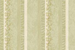 7123 cikkszámú tapéta.Absztrakt,barokk-klasszikus,különleges motívumos,természeti mintás,textil hatású,textilmintás,virágmintás,fehér,zöld,súrolható,illesztés mentes,vlies tapéta