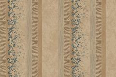 7126 cikkszámú tapéta.Absztrakt,barokk-klasszikus,különleges motívumos,természeti mintás,textil hatású,textilmintás,virágmintás,arany,bézs-drapp,bronz,sárga,vajszínű,súrolható,illesztés mentes,vlies tapéta