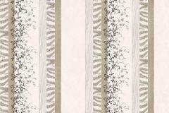 7127 cikkszámú tapéta.Absztrakt,barokk-klasszikus,különleges motívumos,természeti mintás,textil hatású,textilmintás,virágmintás,fehér,szürke,súrolható,illesztés mentes,vlies tapéta