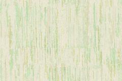 7175 cikkszámú tapéta.Absztrakt,csíkos,különleges motívumos,textil hatású,textilmintás,fehér,zöld,súrolható,vlies tapéta