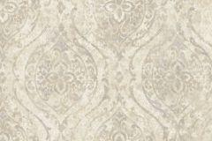 9311 cikkszámú tapéta.Barokk-klasszikus,különleges felületű,különleges motívumos,bézs-drapp,szürke,vajszín,súrolható,vlies tapéta