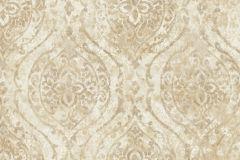 9312 cikkszámú tapéta.Barokk-klasszikus,különleges felületű,különleges motívumos,arany,vajszín,súrolható,vlies tapéta
