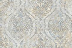 9316 cikkszámú tapéta.Barokk-klasszikus,különleges felületű,különleges motívumos,textil hatású,bézs-drapp,szürke,súrolható,vlies tapéta