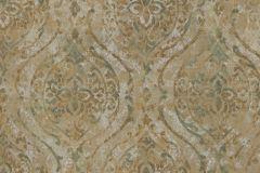 9318 cikkszámú tapéta.Barokk-klasszikus,különleges felületű,különleges motívumos,arany,barna,kék,zöld,súrolható,vlies tapéta