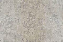 9321 cikkszámú tapéta.Barokk-klasszikus,különleges felületű,virágmintás,barna,szürke,vajszín,súrolható,vlies tapéta