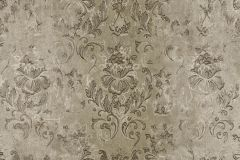 9329 cikkszámú tapéta.Barokk-klasszikus,különleges felületű,virágmintás,barna,zöld,súrolható,vlies tapéta