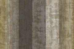 9339 cikkszámú tapéta.Csíkos,textil hatású,barna,zöld,súrolható,vlies tapéta