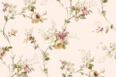 5001 cikkszámú tapéta.Barokk-klasszikus,virágmintás,barna,bézs-drapp,piros-bordó,vajszín,zöld,súrolható,vlies tapéta