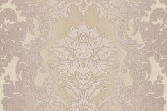5044 cikkszámú tapéta.Barokk-klasszikus,barna,pink-rózsaszín,súrolható,vlies tapéta