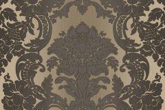 5049 cikkszámú tapéta.Barokk-klasszikus,barna,bézs-drapp,súrolható,vlies tapéta