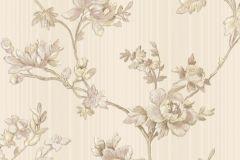 3004 cikkszámú tapéta.Barokk-klasszikus,virágmintás,arany,bézs-drapp,súrolható,vlies tapéta