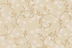 3022 cikkszámú tapéta.Barokk-klasszikus,arany,barna,bézs-drapp,súrolható,vlies tapéta