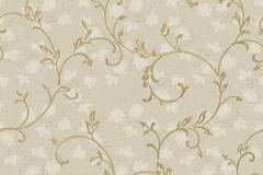 3025 cikkszámú tapéta.Barokk-klasszikus,arany,bézs-drapp,szürke,súrolható,vlies tapéta
