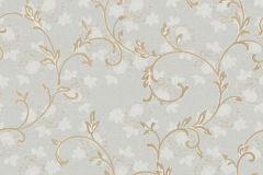 3026 cikkszámú tapéta.Barokk-klasszikus,barna,szürke,súrolható,vlies tapéta