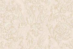 3061 cikkszámú tapéta.Barokk-klasszikus,barna,bézs-drapp,súrolható,vlies tapéta