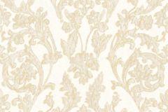 3062 cikkszámú tapéta.Barokk-klasszikus,arany,fehér,vajszín,súrolható,vlies tapéta
