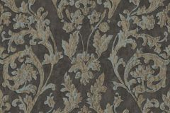 3069 cikkszámú tapéta.Barokk-klasszikus,arany,barna,szürke,súrolható,vlies tapéta